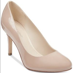 Marc Fisher Nude Patent Leather Pumps